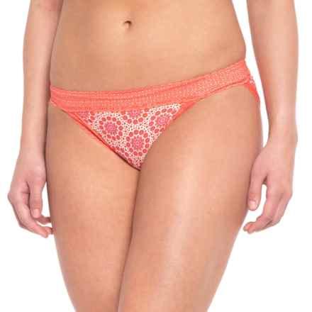 ExOfficio Give-N-Go® Print Lacy Panties - Low-Rise Bikini (For Women) in Lupine Fleur - Closeouts