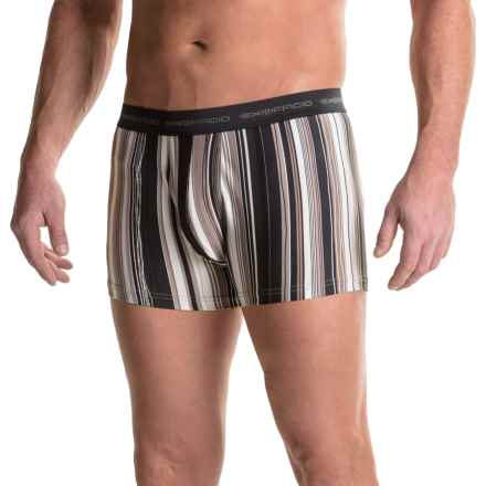 """ExOfficio Give-N-Go® Printed 3"""" Boxer Briefs (For Men) in Road/Wavy - Closeouts"""