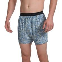ExOfficio Give-N-Go® Printed Boxer Briefs (For Men) in Cayman/Yurt - Closeouts