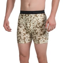 ExOfficio Give-N-Go® Printed Boxer Briefs (For Men) in Loden/Yurt - Closeouts
