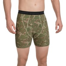 ExOfficio Give-N-Go® Printed Boxer Briefs (For Men) in Map/Mist - Closeouts