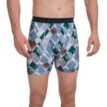 ExOfficio Give-N-Go® Printed Boxer Briefs (For Men) in Riviera/Diamond - Closeouts
