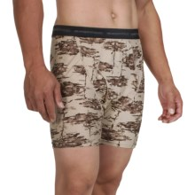 ExOfficio Give-N-Go® Printed Boxer Briefs (For Men) in Tree/Tough - Closeouts
