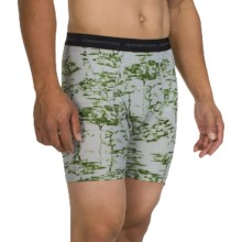 ExOfficio Give-N-Go® Printed Boxer Briefs (For Men) in Trees/Avocado - Closeouts