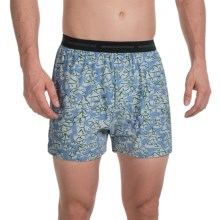 ExOfficio Give-N-Go® Printed Boxers (For Men) in Cayman/Yurt - Closeouts