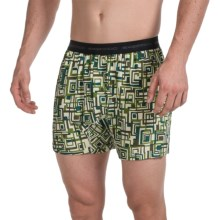 ExOfficio Give-N-Go® Printed Boxers (For Men) in Highlands/Circuit Geo - Closeouts