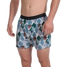 ExOfficio Give-N-Go® Printed Boxers (For Men) in Riviera/Diamond - Closeouts