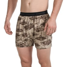 ExOfficio Give-N-Go® Printed Boxers (For Men) in Tree/Tough - Closeouts
