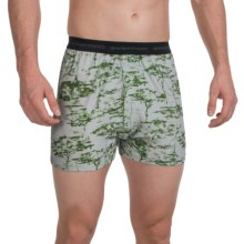 ExOfficio Give-N-Go® Printed Boxers (For Men) in Trees/Avocado - Closeouts