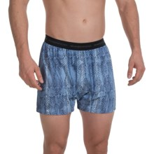 ExOfficio Give-N-Go® Printed Boxers (For Men) in Varsity/Fish - Closeouts