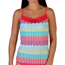 ExOfficio Give-N-Go® Printed Lacy Camisole - Built-In Shelf Bra (For Women) in Dots/Multi - Closeouts