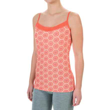 ExOfficio Give-N-Go® Printed Lacy Camisole - Built-In Shelf Bra (For Women) in Lupine Fleur - Closeouts