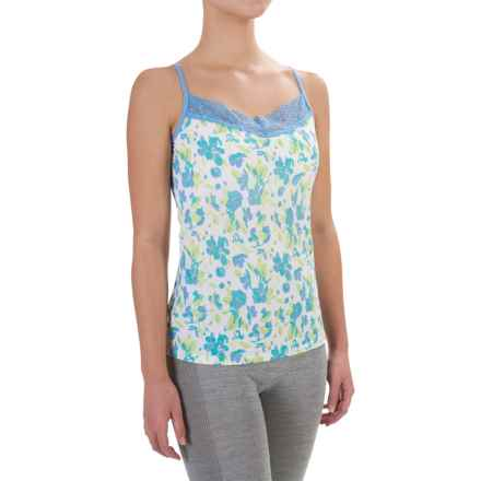 ExOfficio Give-N-Go® Printed Lacy Camisole - Built-In Shelf Bra (For Women) in Spring/Blossom - Closeouts