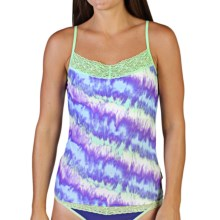 ExOfficio Give-N-Go® Printed Lacy Camisole - Built-In Shelf Bra (For Women) in Tie Dye/Spring - Closeouts