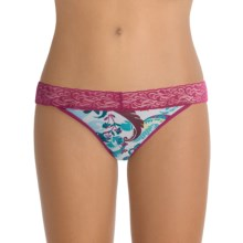ExOfficio Give-N-Go® Printed Lacy Panties - Bikini, Low Rise (For Women) in Ferns Print - Closeouts