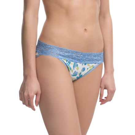 ExOfficio Give-N-Go® Printed Lacy Panties - Bikini, Low Rise (For Women) in Spring/Blossom - Closeouts