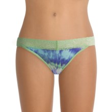 ExOfficio Give-N-Go® Printed Lacy Panties - Bikini, Low Rise (For Women) in Tie Dye/Spring - Closeouts