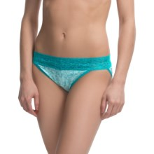 ExOfficio Give-N-Go® Printed Lacy Panties - Bikini, Low Rise (For Women) in Whimsical/Breez - Closeouts