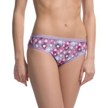 ExOfficio Give-N-Go® Printed Panties - Bikini Briefs (For Women) in Lupine/Floral - Closeouts