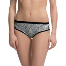 ExOfficio Give-N-Go® Printed Panties - Bikini Briefs (For Women) in Whimsical/Black - Closeouts