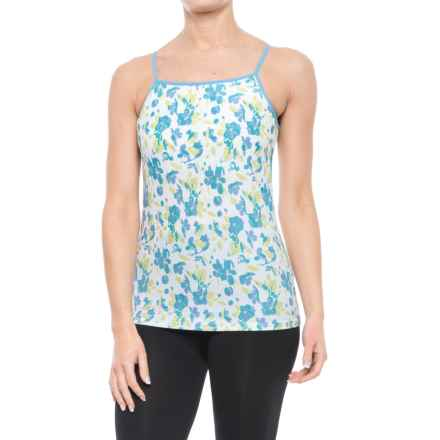 ExOfficio Give-N-Go® Printed Tank Top - Built-In Shelf Bra, Spaghetti Straps (For Women) in Spring/Blossom - Closeouts
