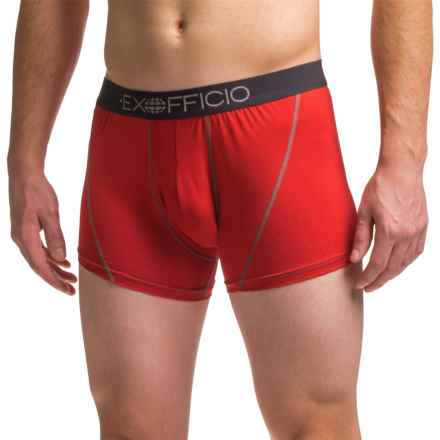 "Exofficio Give-N-Go® Sport Mesh 3"" Boxer Briefs (For Men) in Stop - Closeouts"