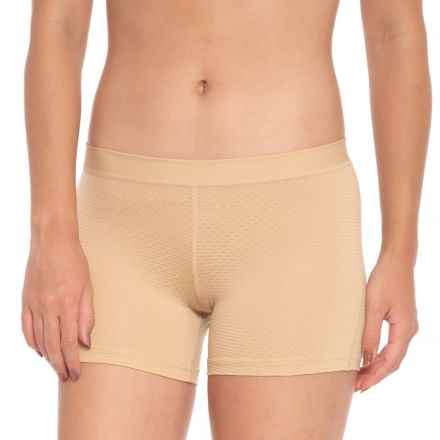 ExOfficio Give-N-Go® Sport Mesh Panties - Boy Shorts (For Women) in Nude - Closeouts