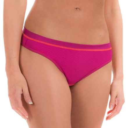 ExOfficio Give-N-Go® Sport Mesh Panties - Thong (For Women) in Daiquiri - Closeouts