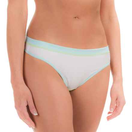 ExOfficio Give-N-Go® Sport Mesh Panties - Thong (For Women) in Glacial - Closeouts