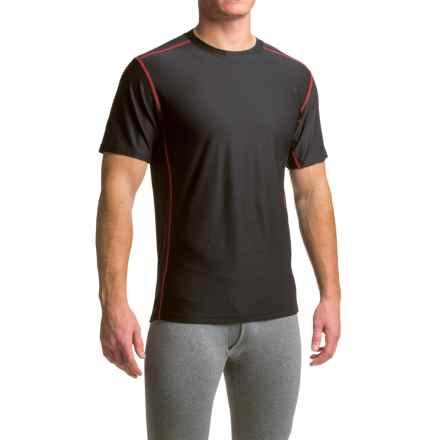 ExOfficio Give-N-Go® Sport Mesh Shirt - Crew Neck, Short Sleeve (For Men) in Black - Closeouts