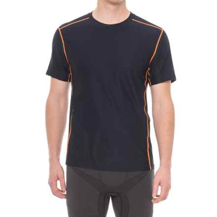 ExOfficio Give-N-Go® Sport Mesh Shirt - Crew Neck, Short Sleeve (For Men) in Curfew - Closeouts