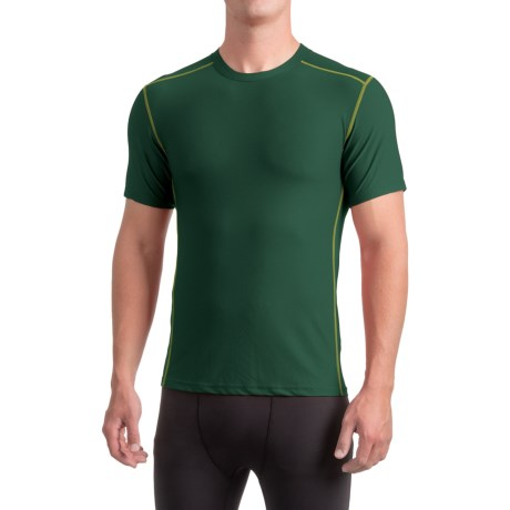 ExOfficio Give-N-Go® Sport Mesh Shirt - Crew Neck, Short Sleeve (For Men) in Petrol