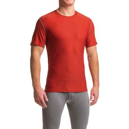 ExOfficio Give-N-Go® Sport Mesh Shirt - Crew Neck, Short Sleeve (For Men) in Stop - Closeouts