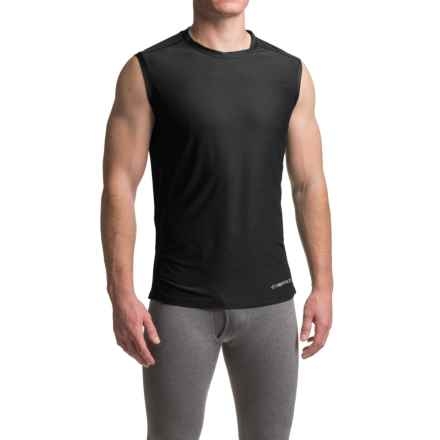 ExOfficio Give-N-Go® Sport Mesh Shirt - Crew Neck, Sleeveless (For Men) in Black - Closeouts