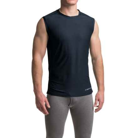 ExOfficio Give-N-Go® Sport Mesh Shirt - Crew Neck, Sleeveless (For Men) in Curfew - Closeouts
