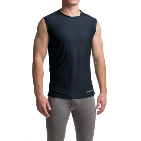ExOfficio Give-N-Go® Sport Mesh Shirt - Crew Neck, Sleeveless (For Men) in Curfew