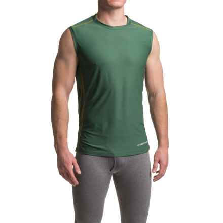 ExOfficio Give-N-Go® Sport Mesh Shirt - Crew Neck, Sleeveless (For Men) in Petrol - Closeouts