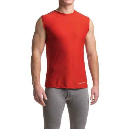 ExOfficio Give-N-Go® Sport Mesh Shirt - Crew Neck, Sleeveless (For Men) in Stop - Closeouts