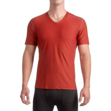 ExOfficio Give-N-Go® Sport Mesh Shirt - V-Neck, Short Sleeve (For Men) in Stop - Closeouts