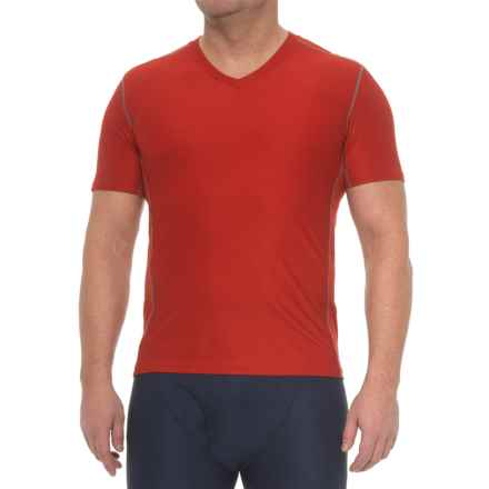 ExOfficio Give-N-Go® Sport Mesh T-Shirt - V-Neck, Short Sleeve (For Men) in Stop - Closeouts