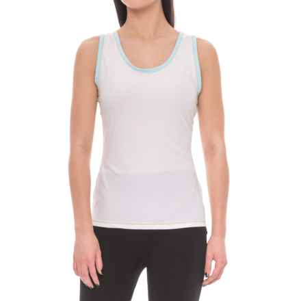 ExOfficio Give-N-Go® Sport Mesh Tank Top (For Women) in Glacial - Closeouts