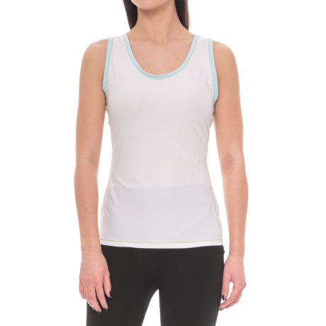 ExOfficio Give-N-Go® Sport Mesh Tank Top (For Women) in Glacial