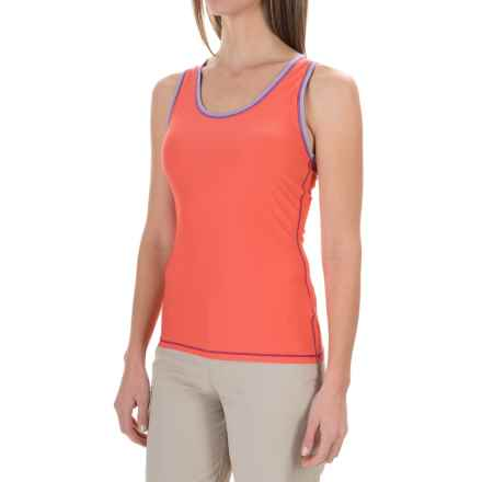 ExOfficio Give-N-Go® Sport Mesh Tank Top (For Women) in Hot Coral - Closeouts