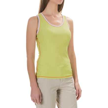 ExOfficio Give-N-Go® Sport Mesh Tank Top (For Women) in Paradise - Closeouts