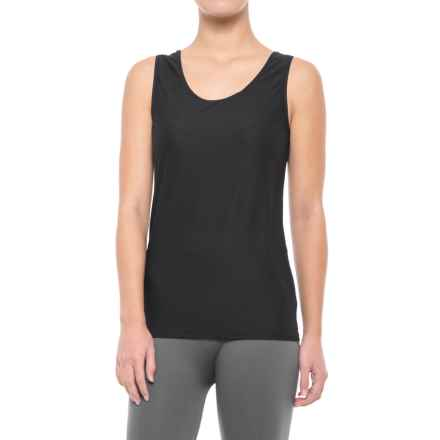 ExOfficio Give-N-Go Stretch Tank Top (For Women) in Black - Closeouts