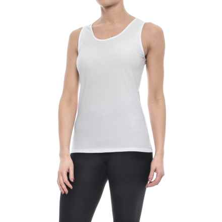 ExOfficio Give-N-Go Stretch Tank Top (For Women) in White - Closeouts