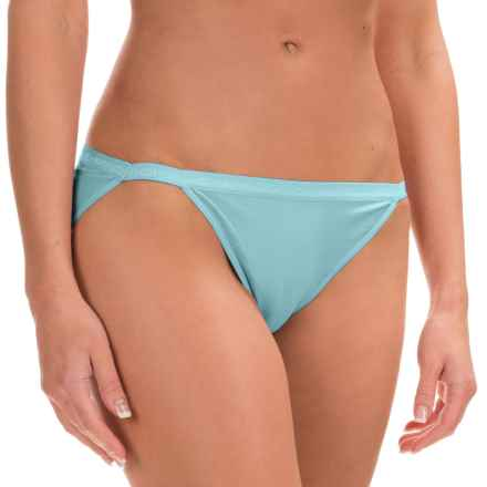 ExOfficio Give-N-Go® String Bikini Panties - Low Rise (For Women) in Atmosphere - Closeouts