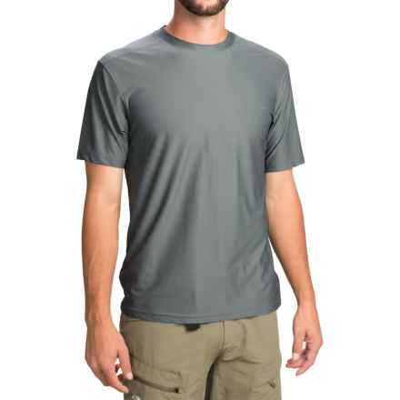 ExOfficio Give-N-Go® T-Shirt - Short Sleeve (For Men) in Charcoal - Closeouts