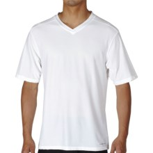 ExOfficio Give-N-Go T-Shirt - V-Neck, Short Sleeve (For Men) in White - Closeouts