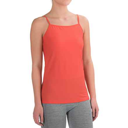 ExOfficio Give-N-Go Tank Top - Built-In Shelf Bra (For Women) in Hot Coral - Closeouts